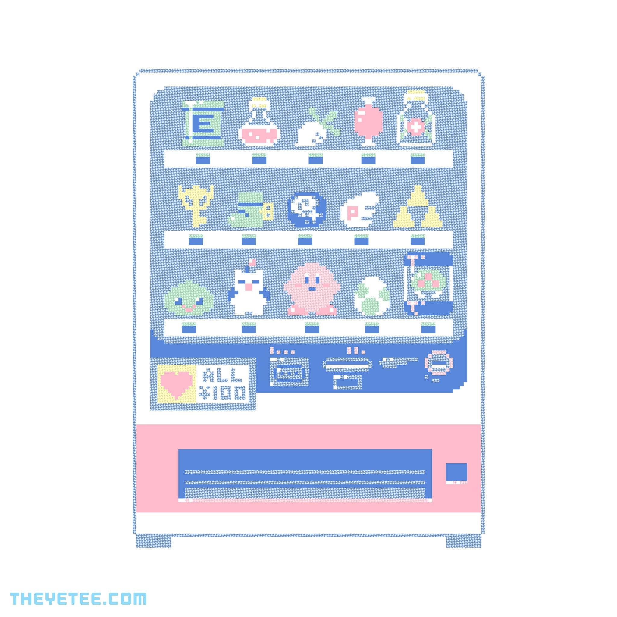 The Yetee: Happy 100 Yen Vending Machine