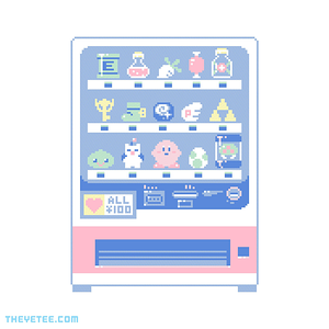 The Yetee: Happy 100 Yen Vending Machine