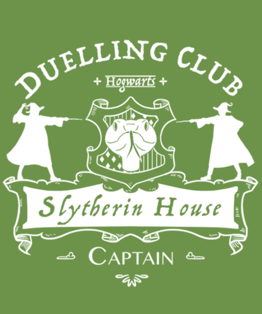 Qwertee: Slytherin Duelling Team
