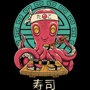 Design by Humans: Octo Sushi Bar