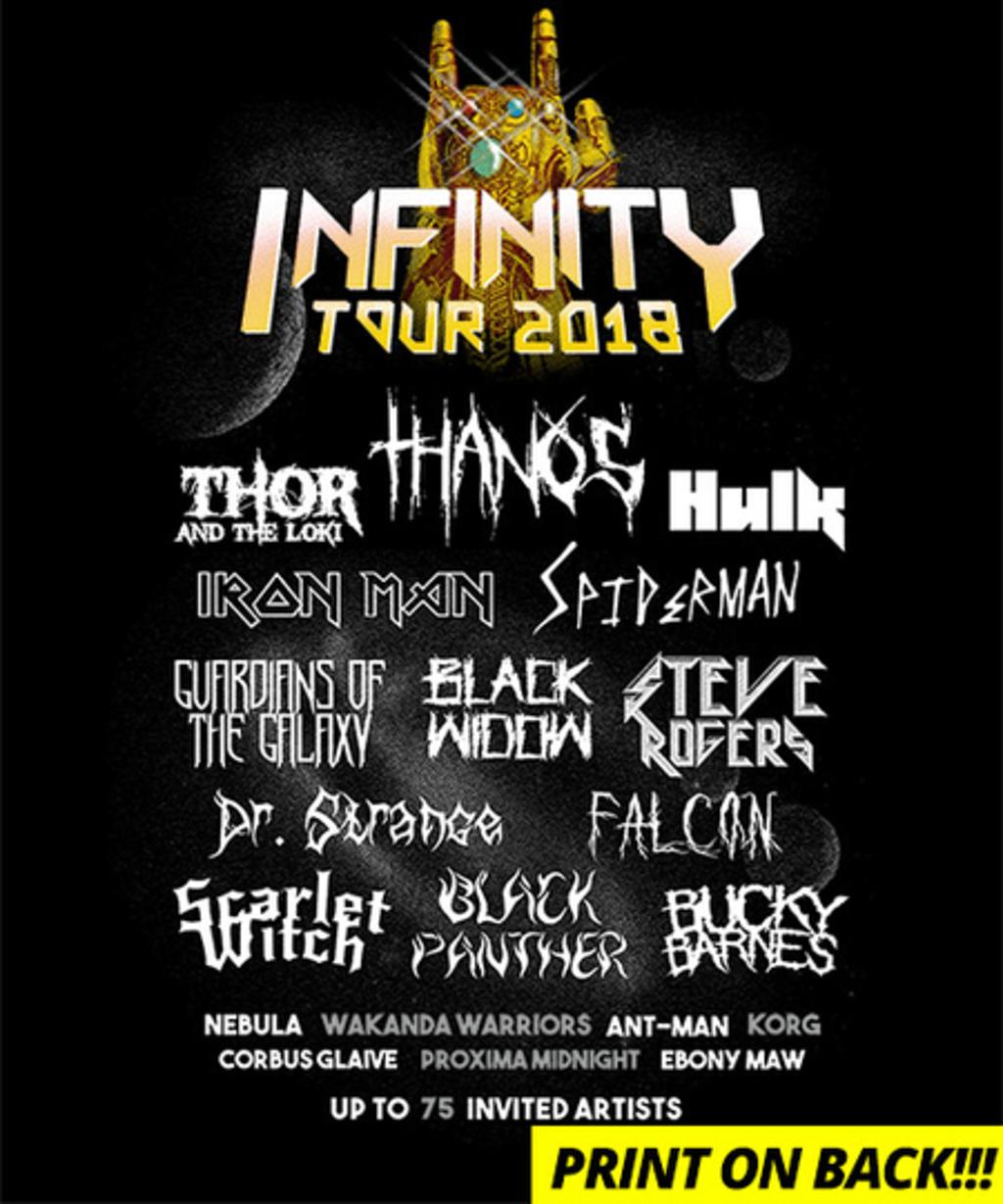 Qwertee: Infinity Tour