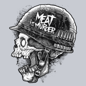 Pop-Up Tee: Meat is Murder