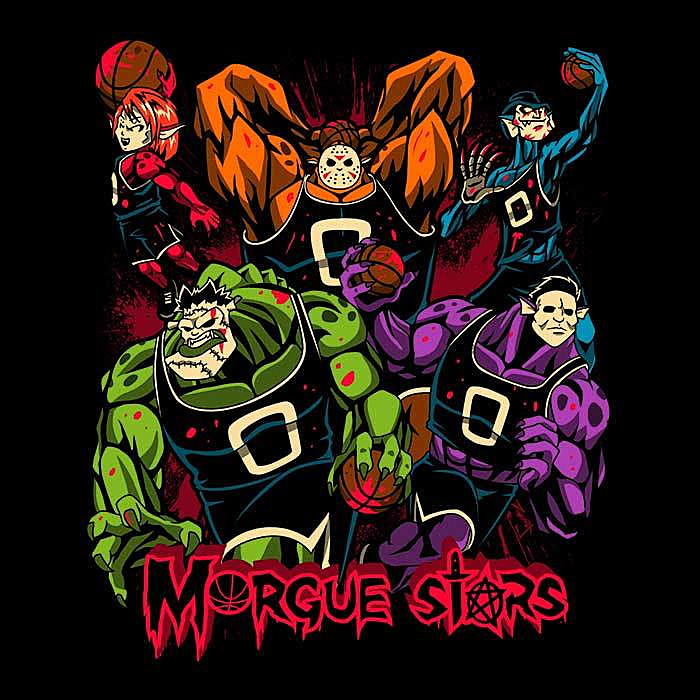 Once Upon a Tee: Morgue Stars