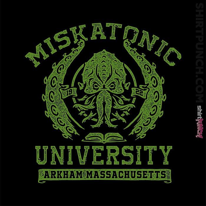 ShirtPunch: Miskatonic University