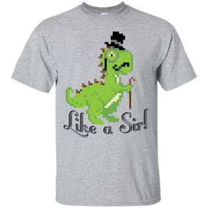 Pop-Up Tee: LikeASir T-Rex