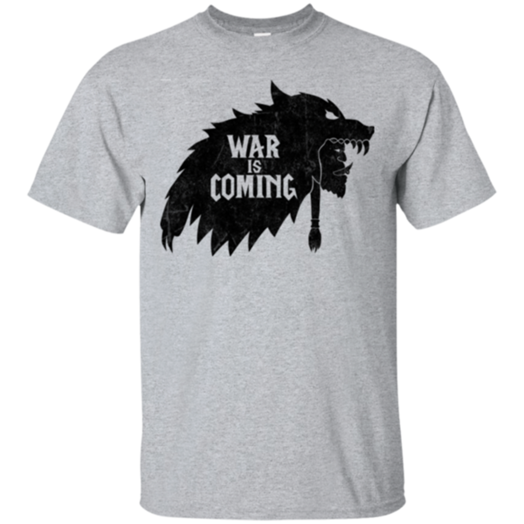 Pop-Up Tee: War is Coming