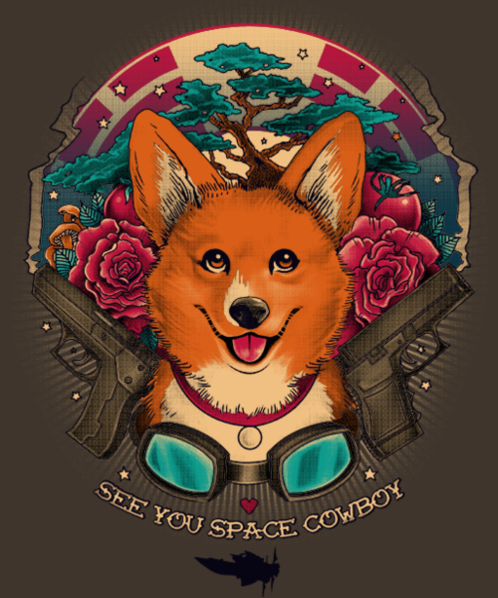 Qwertee: Space Cowboy