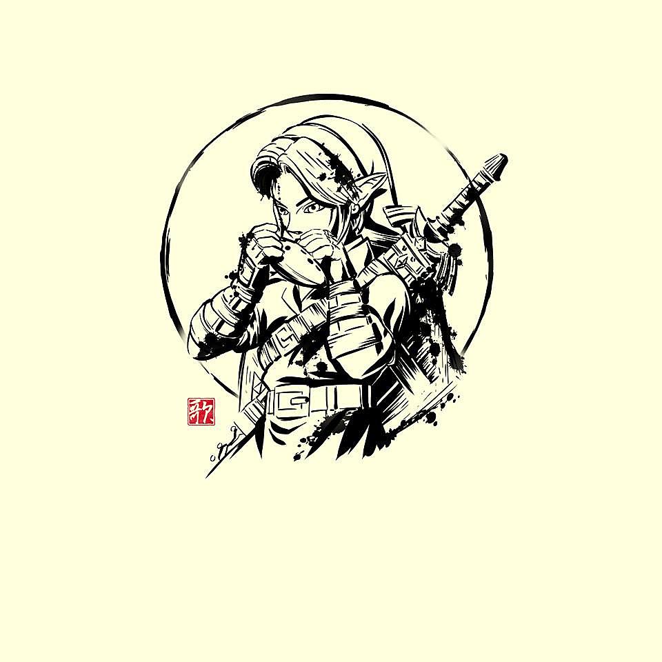 TeeFury: Ink Ocarina