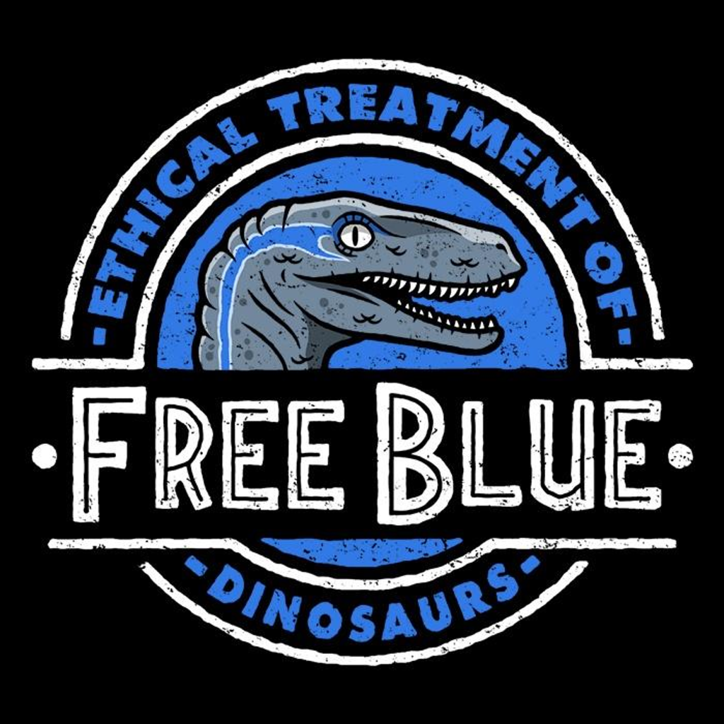 Once Upon a Tee: Free Blue