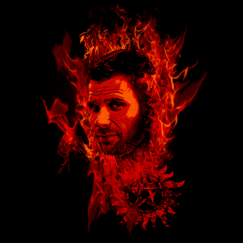 NeatoShop: Lucifer In Flames