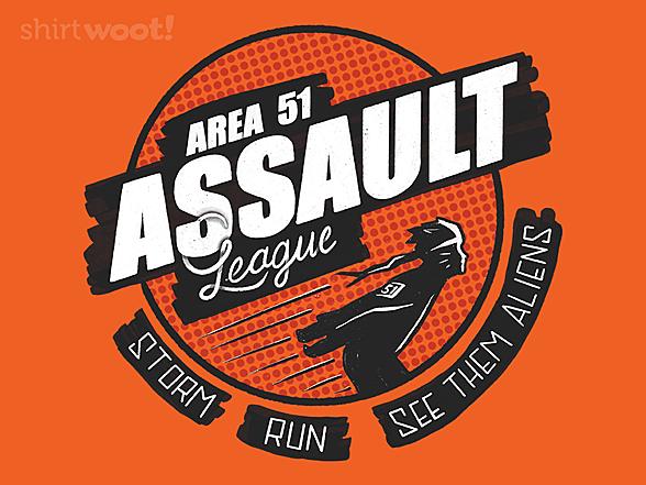 Woot!: Area 51 Assault League