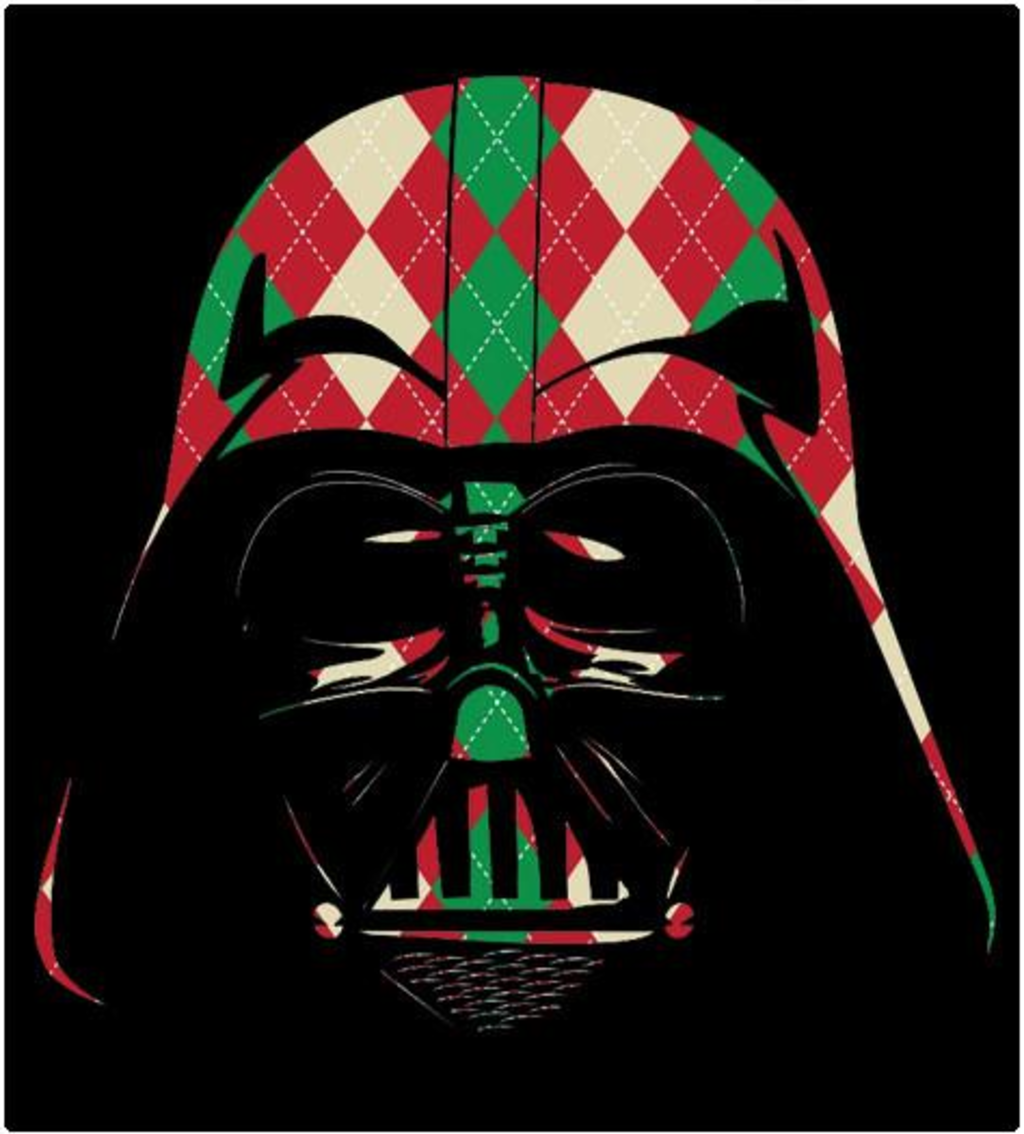 Shirt Battle: Holiday Plaid Darth