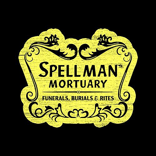 Five Finger Tees: Spellman Mortuary T-Shirt