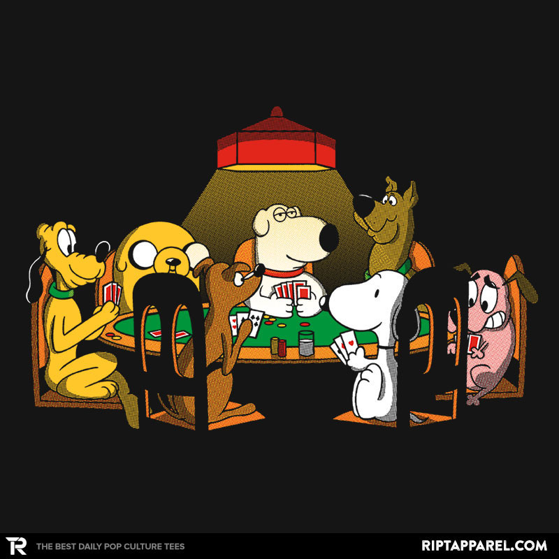 Ript: Dogs Playing Poker