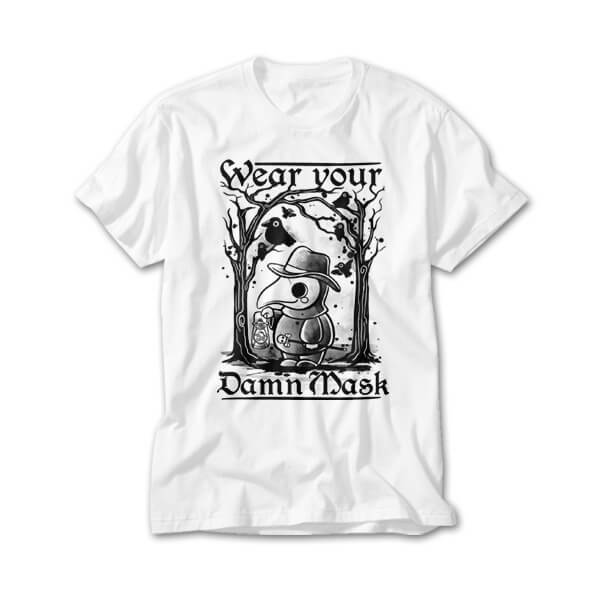 OtherTees: Wear your damn mask