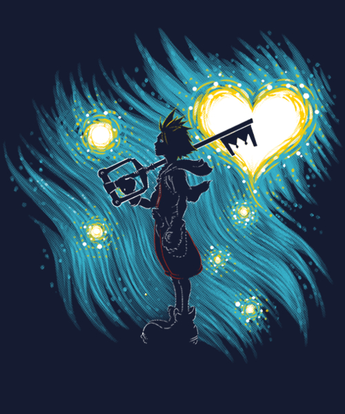 Qwertee: Starry Hearts