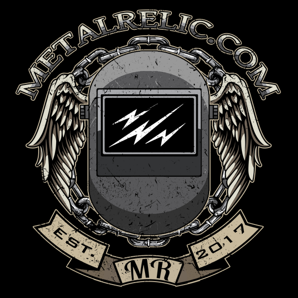 NeatoShop: Metal Relic Welding Helmet Shirt.