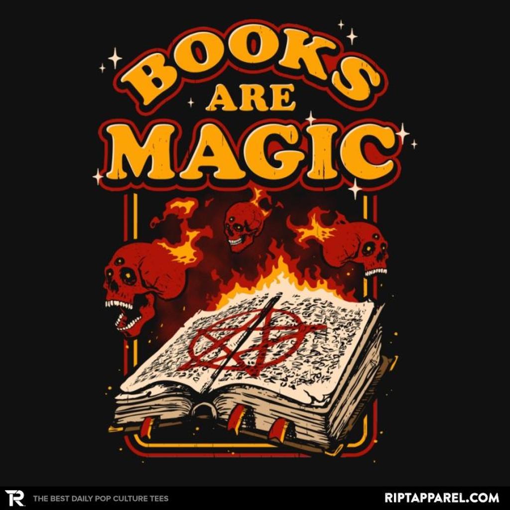 Ript: Books Are Magic