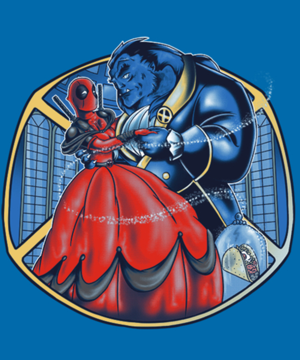 Qwertee: Booty And The Beast