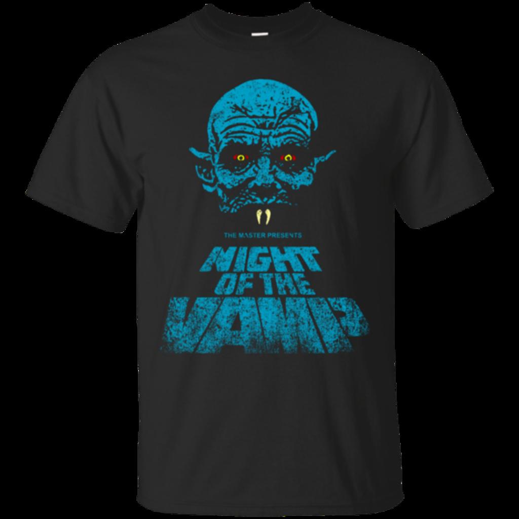 Pop-Up Tee: Night Vamp