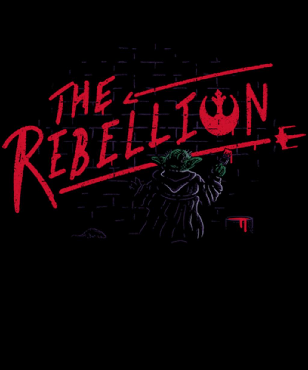 Qwertee: The Little Rebel