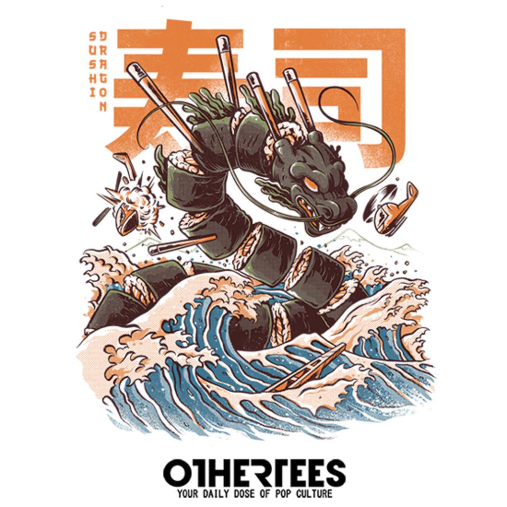 OtherTees: Great Sushi Dragon