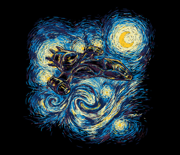 TeeFury: Starry Flight