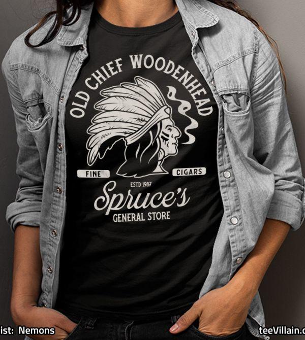 teeVillain: Woodenhead