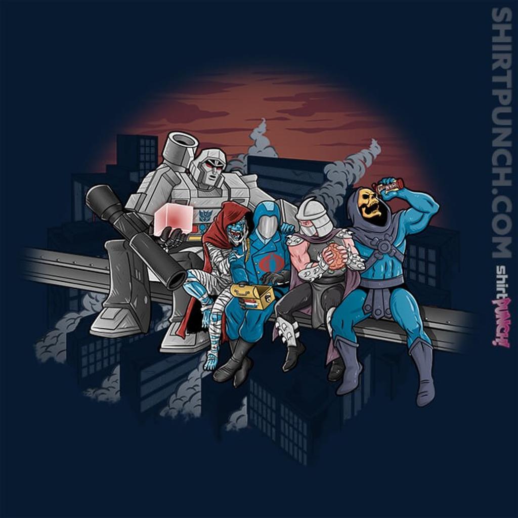 ShirtPunch: Villains At Break