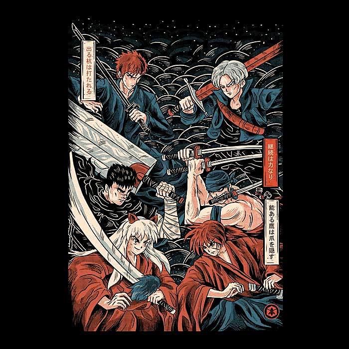 Once Upon a Tee: Swordsmen