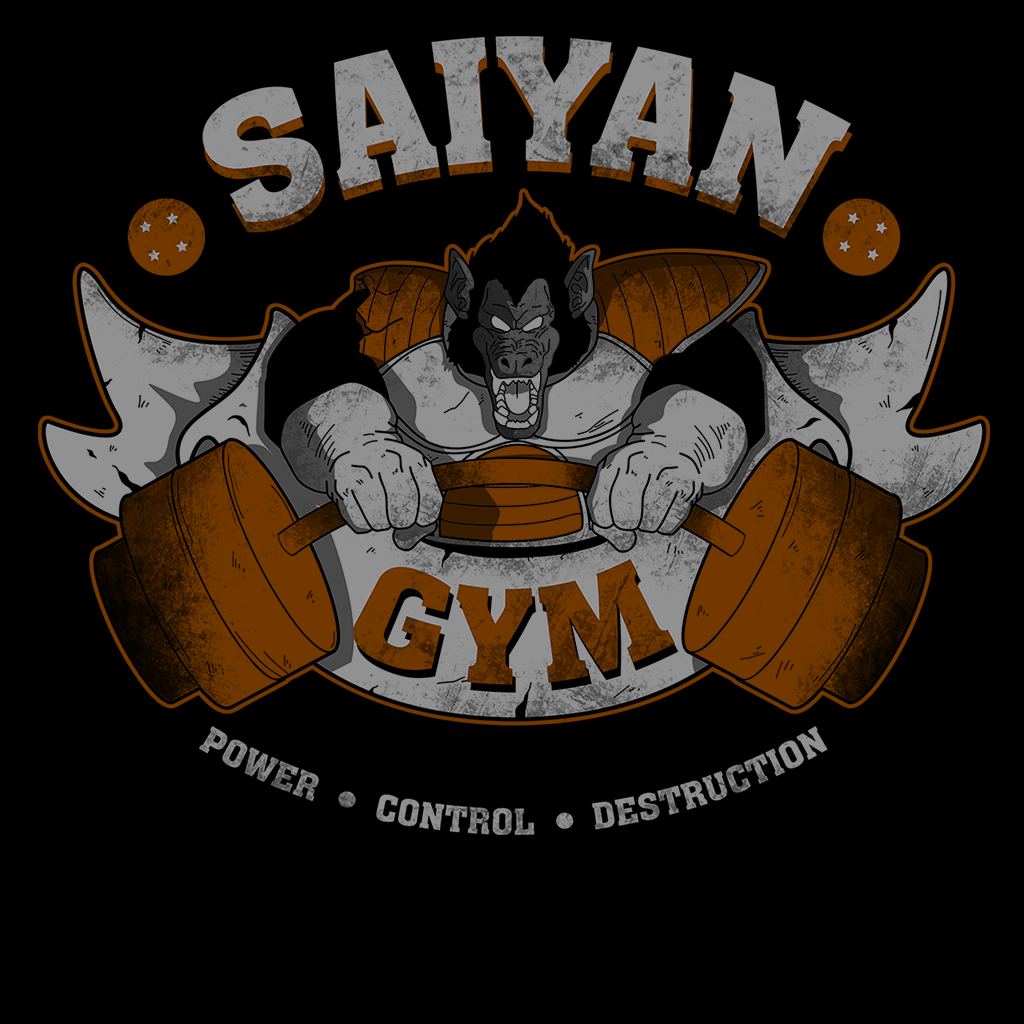 Pop-Up Tee: Saiyan Gym