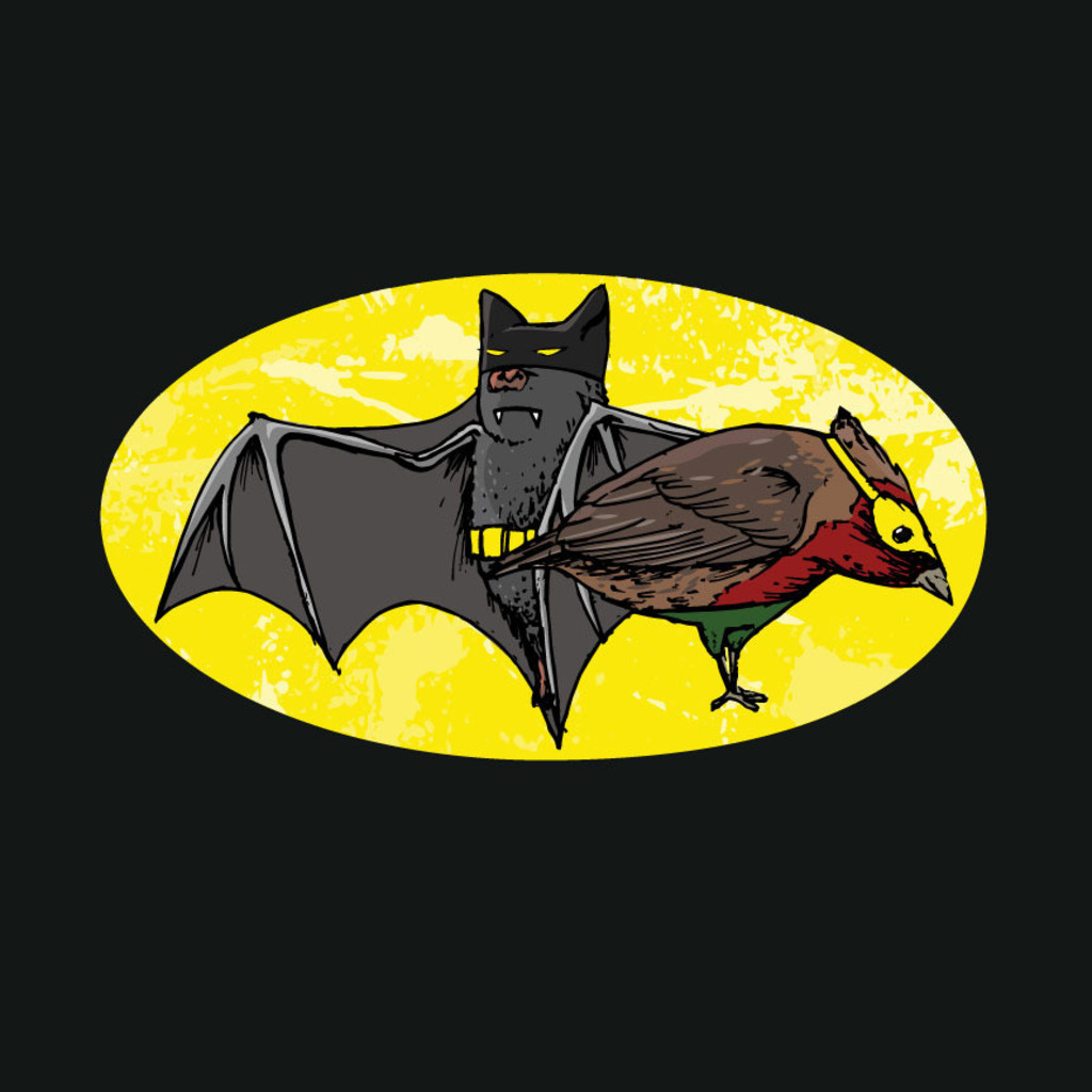 Wear Viral: The Dark Bat and Bird Wonder