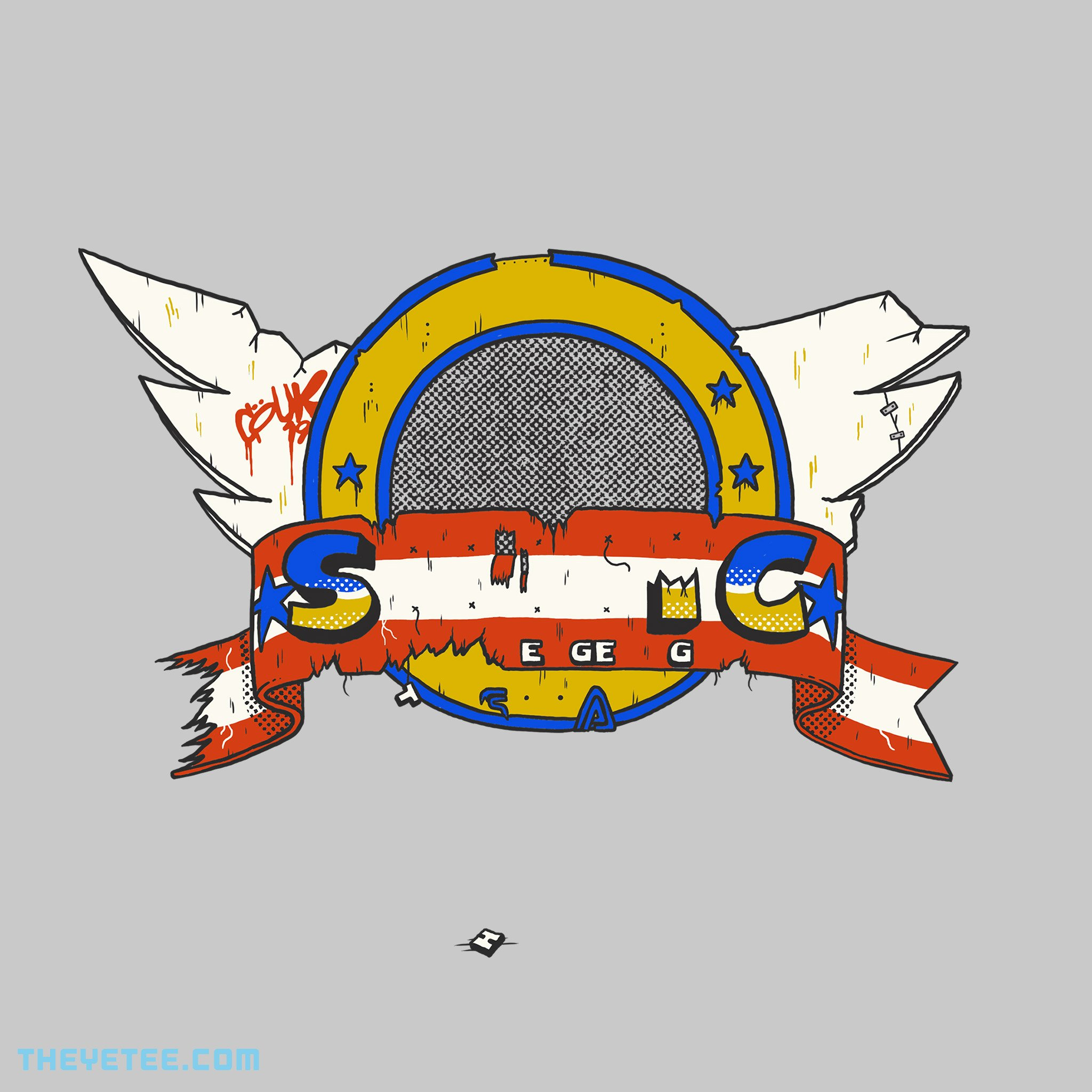 The Yetee: Abandoned Title Screen 1991