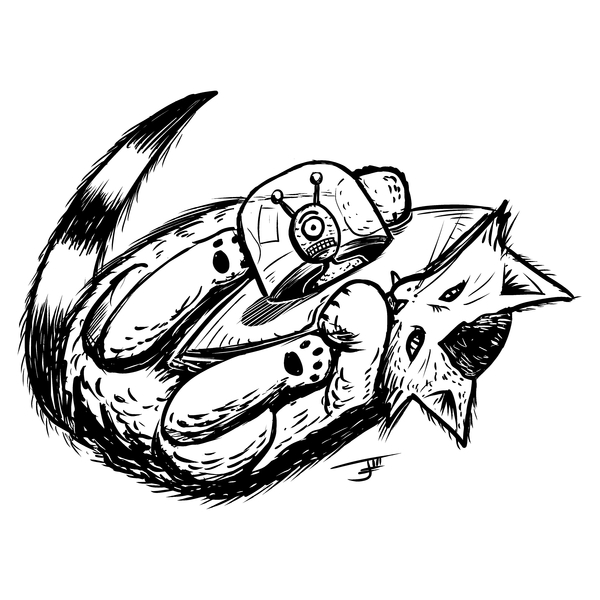 NeatoShop: Inktober Day 25: SHIP - Bunny Kick of Death