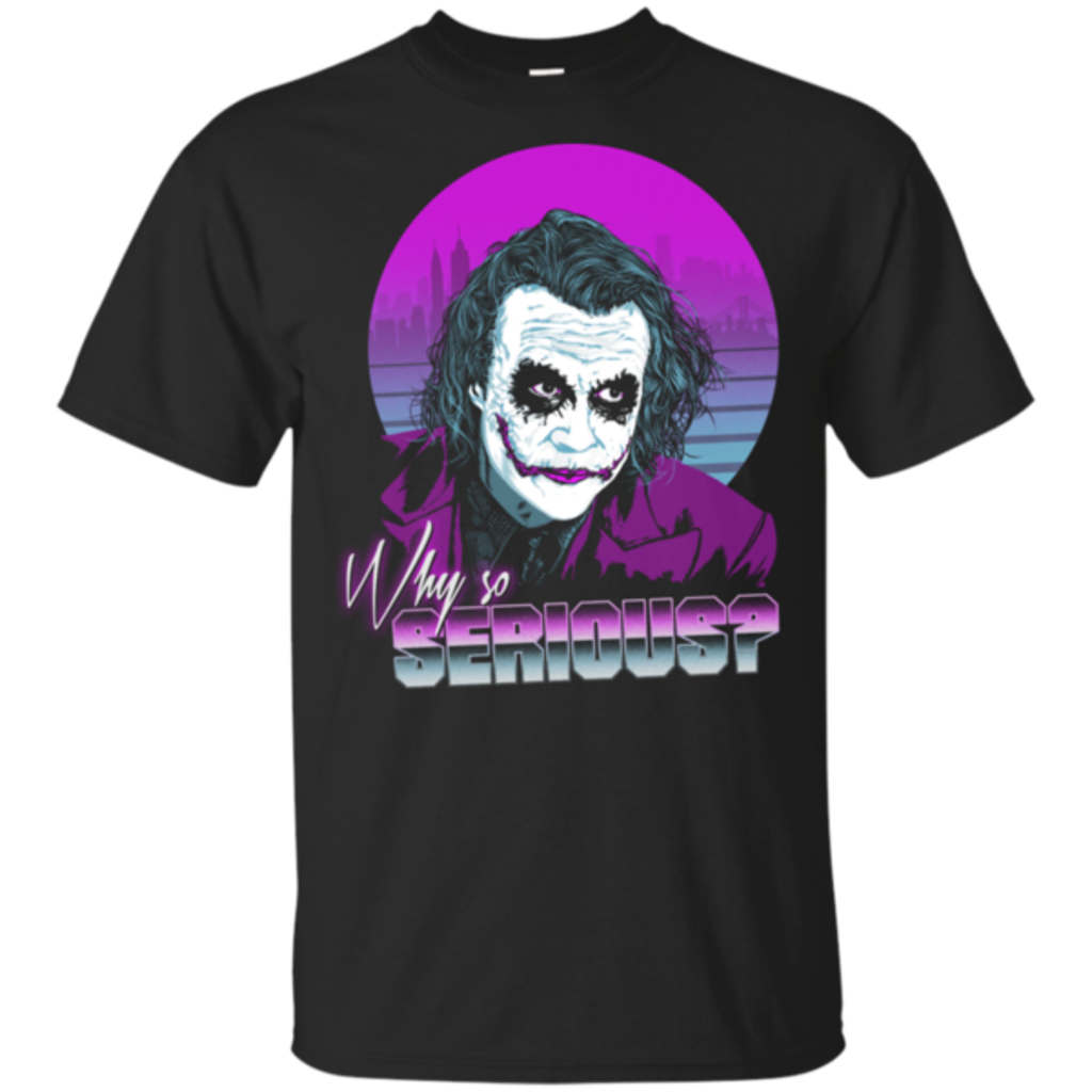 Pop-Up Tee: Why so Serious