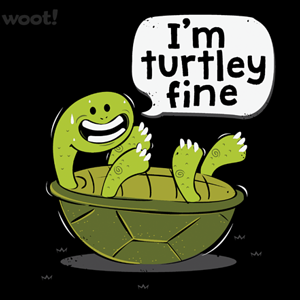 Woot!: Turtley Fine