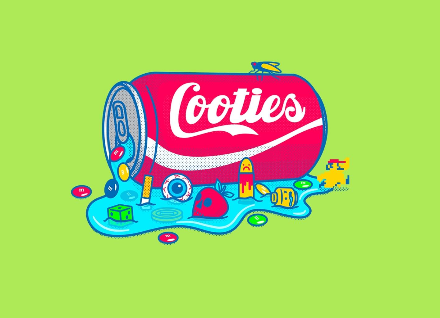 Threadless: Taste the Cooties