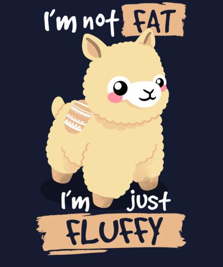 Qwertee: Alpaca just fluffy