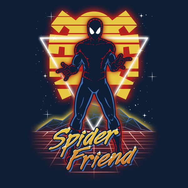 NeatoShop: Retro Spider Friend