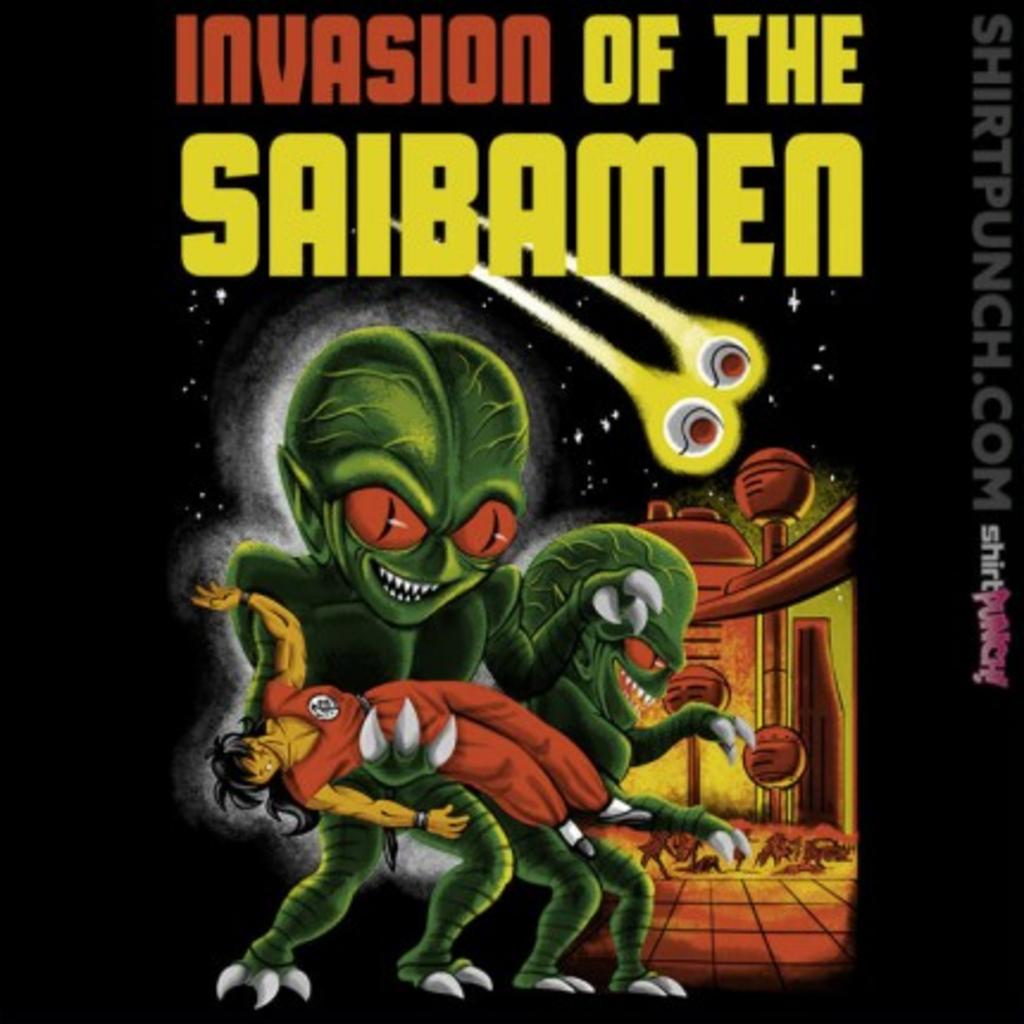 ShirtPunch: Invasion of the Saibamen