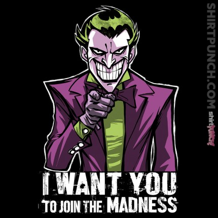ShirtPunch: Madness Wants You