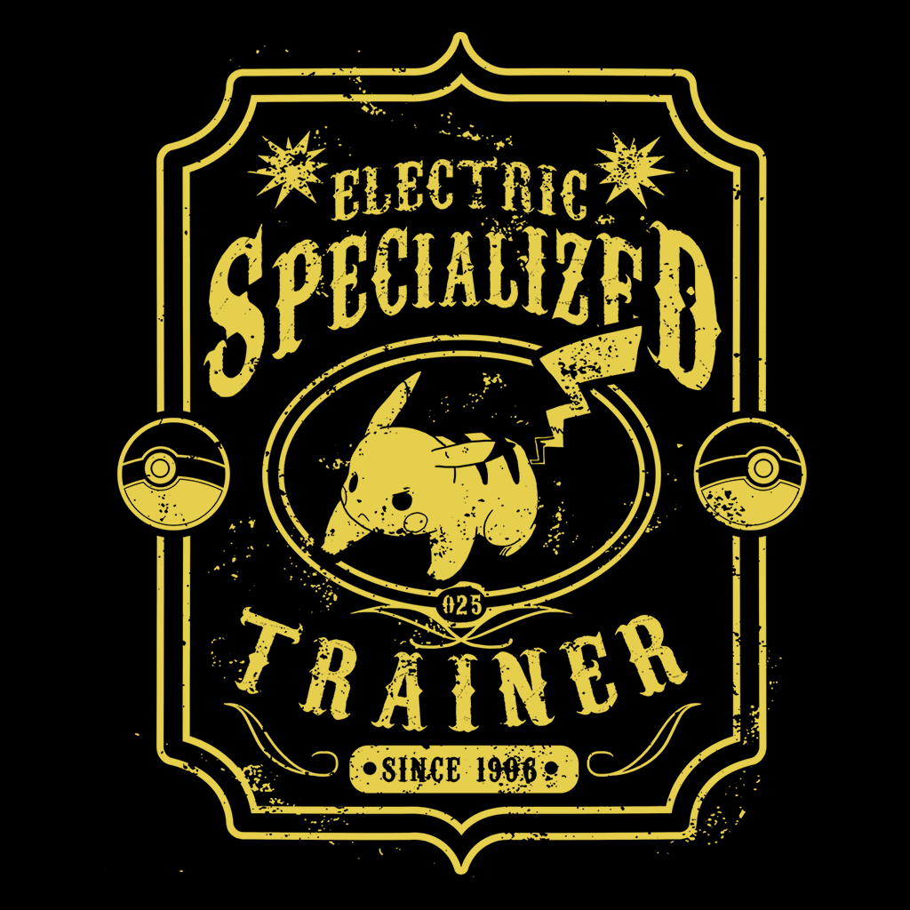 Pop-Up Tee: Electric Specialized II