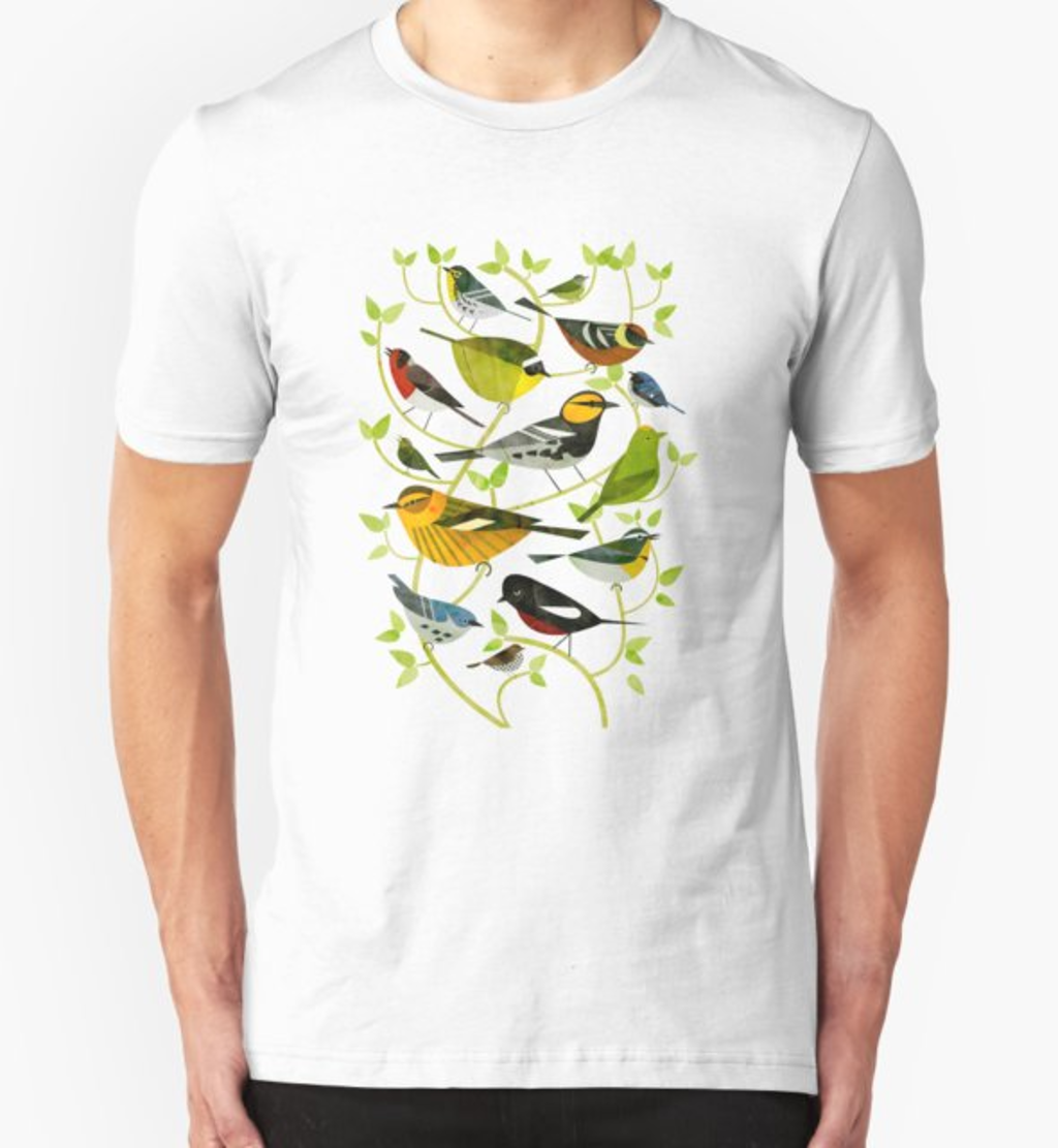 RedBubble: New World Warblers 2