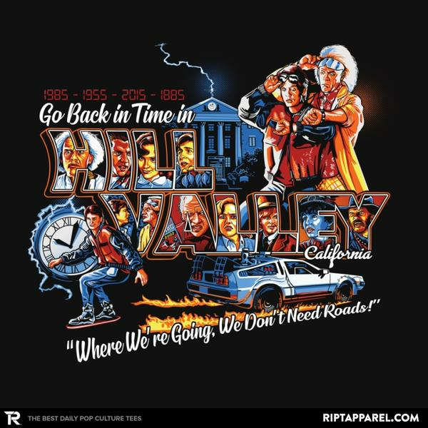 Ript: Go Back in Time in Hill Valley