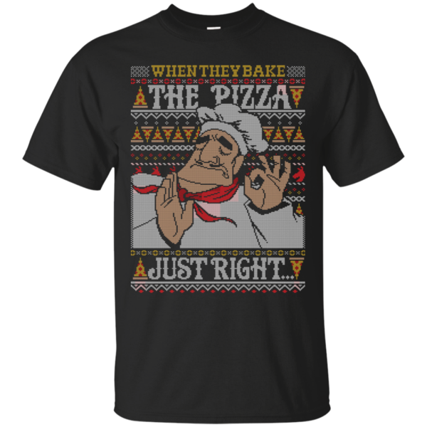 Pop-Up Tee: Pacha Pizza Ugly Sweater