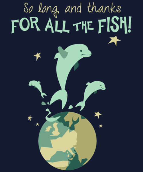 Qwertee: Thanks For All The Fish