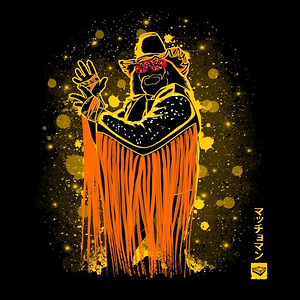 Once Upon a Tee: The Macho King