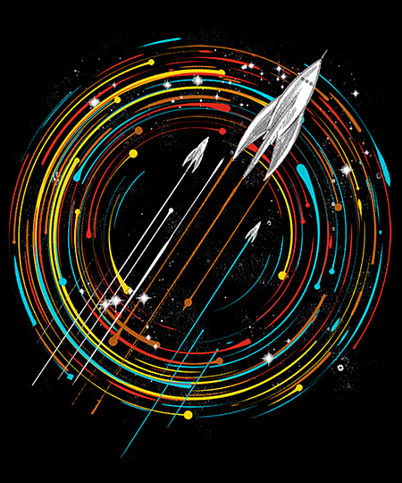 Qwertee: explore the stars