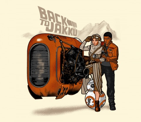 TeeFury: Back to Jakku