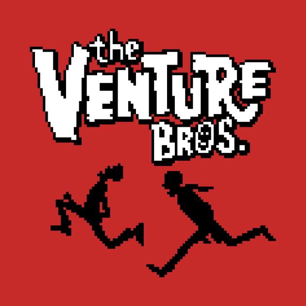 TeePublic: Venture Bros pixel art